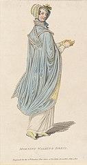Morning walking dress, 1820