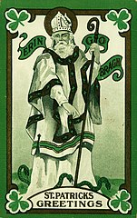 St Patrick and snakes