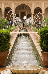 Alhambra Generalife Fountains