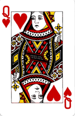 18th Century Playing Card