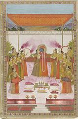 158px-A_Holi_Festival_-_Krishna_Radha_and_Gopis