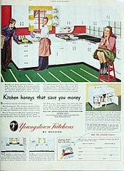ad for Youngstown kitchens