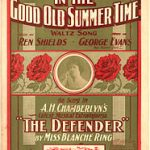 Music Cover In the Good Old Summer Time