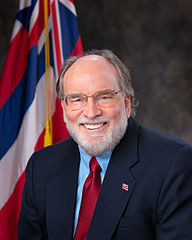 Official Photograph. Gov. Neil Abercrombie. Creative Commons Attribution. Wikimedia Commons