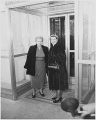 Bess Truman & Mamie Eisenhower