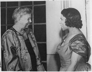 Eleanor Roosevelt & Marian Anderson