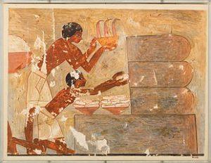 Egyptians Gathering Honey