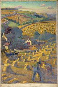 319px-INF3-23_Harvesting_Artist_Allinson_1939-1946