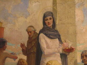 St Hilda at Hartlepool by James Clark