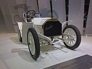 Mercedes Simplex motor car