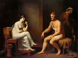 Odysseus & Penelope