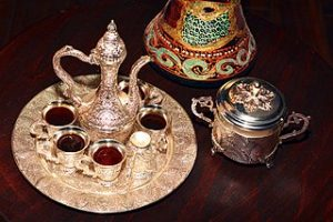 Turkish coffee service