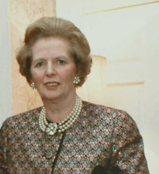 Margaret Thatcher, 1988, Public Domain, Wikimedia Commons
