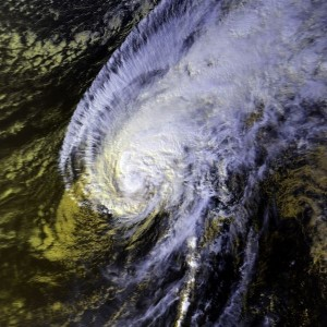Hurricane `Iwa, Public Domain, Wikimedia Commons