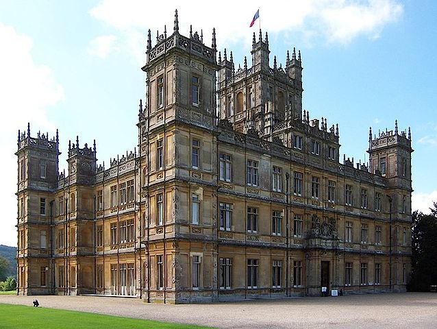 "THE ""REAL"" DOWNTON ABBEY"