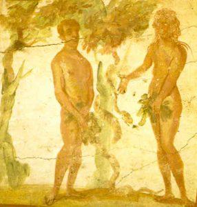 Adam, Eve & snake
