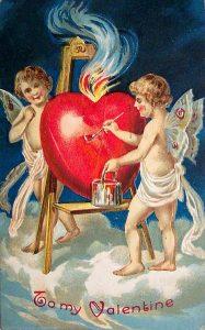 1909 Valentine Card