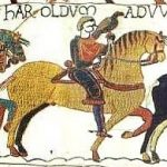 King Harold in Bayeux Tapestery