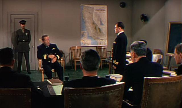 Capt. Queeg, Col. Jessup, & Rev. Hastie?