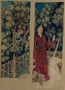 The Unicorn Surrenders to a Maiden