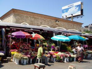Flower Stall, Turkey