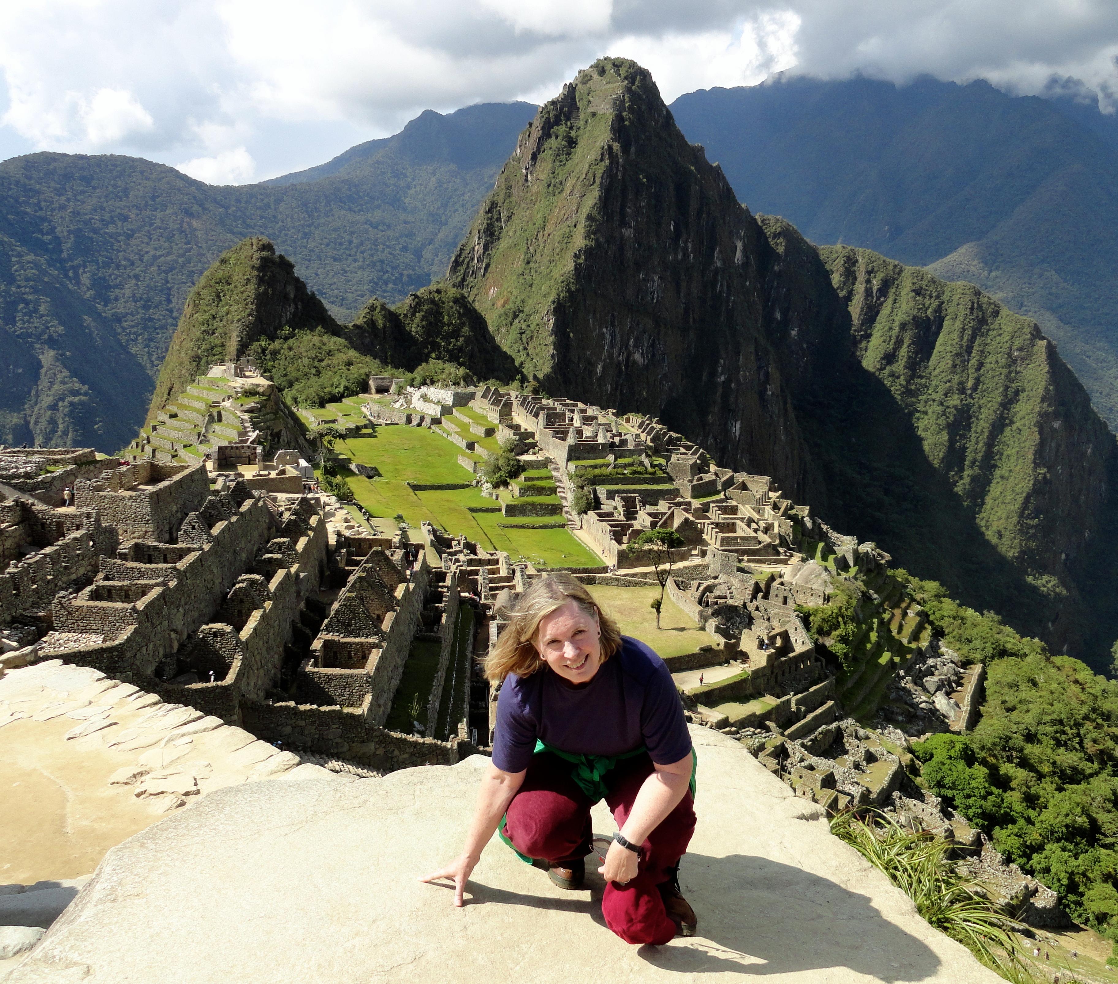 Walking Through Machu Picchu