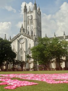 calcutta. st pauls cathedral