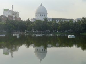 calcutta. red tank
