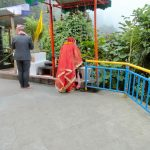 Gangtok.couple who married at Ganeshetok shrine