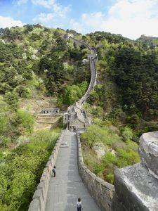 View of Great Wall at Mutianyu