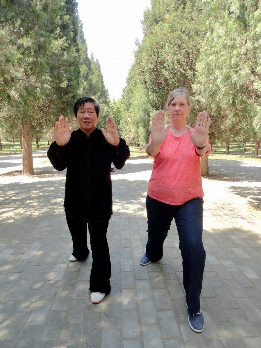 The Tai Chi Master & I