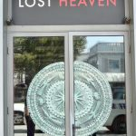 Door of the Lost Heaven Restaurant