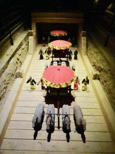 Han Carriage. Yangling Museum