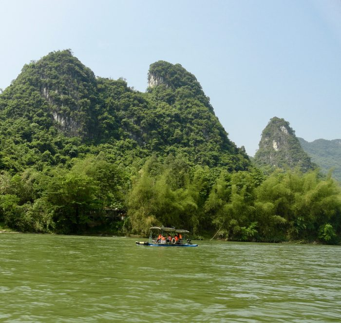 Floating down the Li River