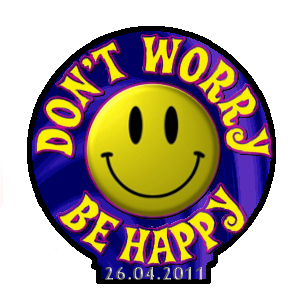 Don't Worry, Be Happy Button