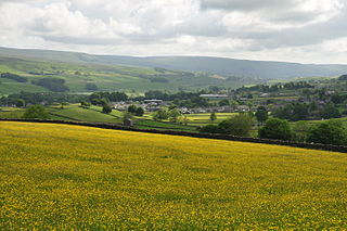 Fields above Hawes