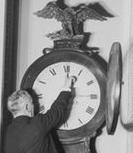 changing Senate clock 1918