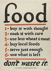 Poster - food, don't waste it