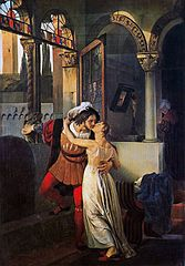 Last kill for Julia by Francisco Hayez