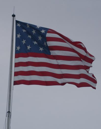 The Flag at Ft. McHenry & the Star-Spangled Banner