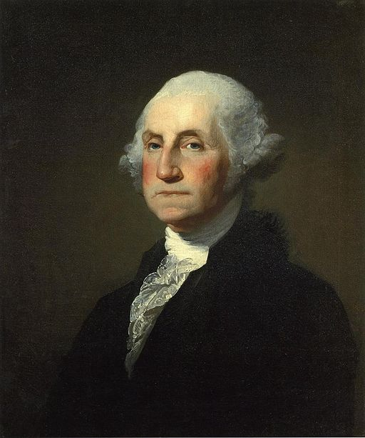 George Washington by Gilbert Stuart, Public Domain, Wikimedia Commons