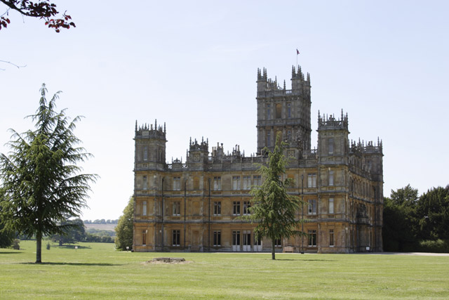 Scandal at Highclere Castle / Downton Abbey