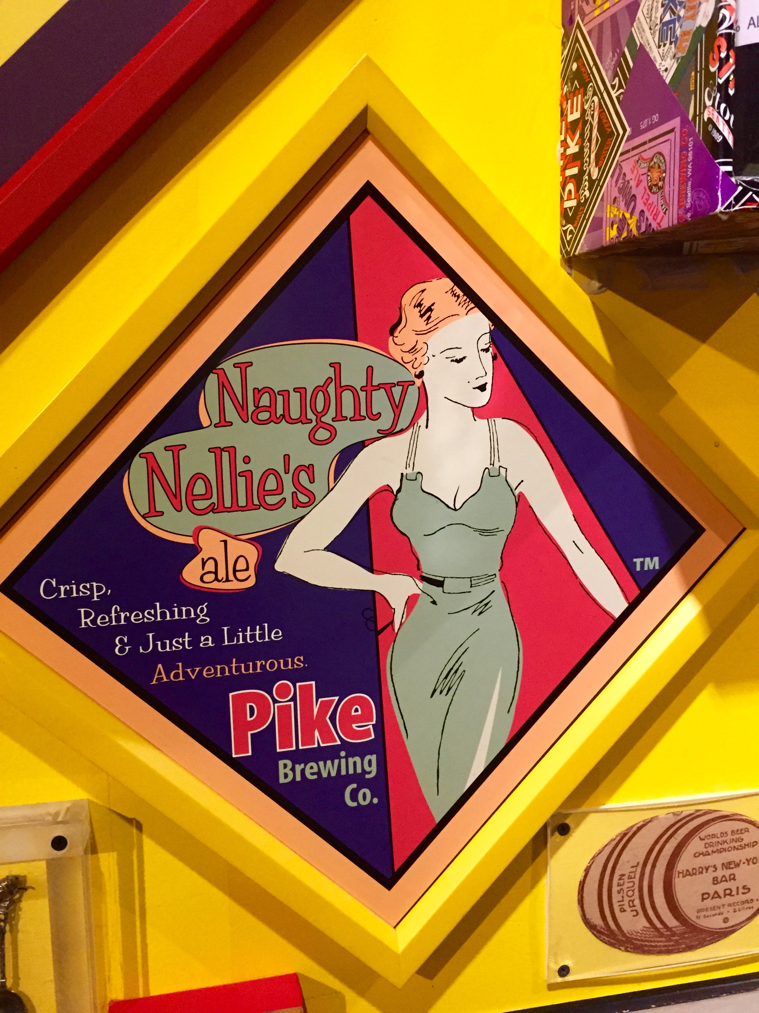 Naughty Nellie and the Honest Cop