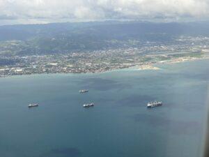 Flying into Cebu