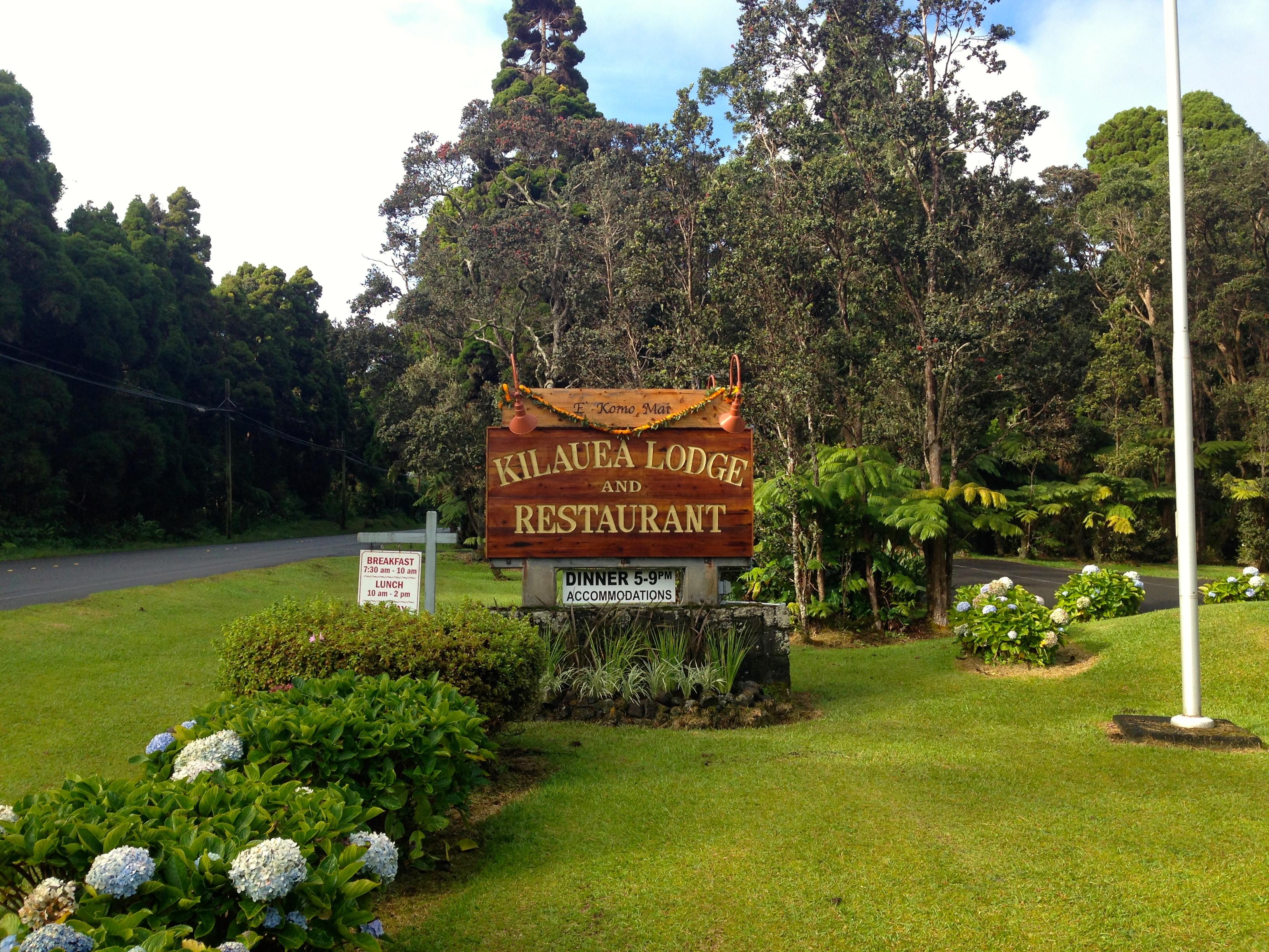 Kilauea Lodge & The Fireplace of Friendship
