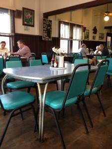 Restaurant interior, Manago Hotel