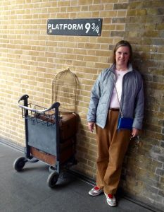 Platform 9-1/2 at Kings' Cross Station