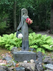 Birutė statue