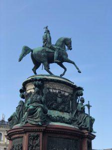 Nicholas I Statue
