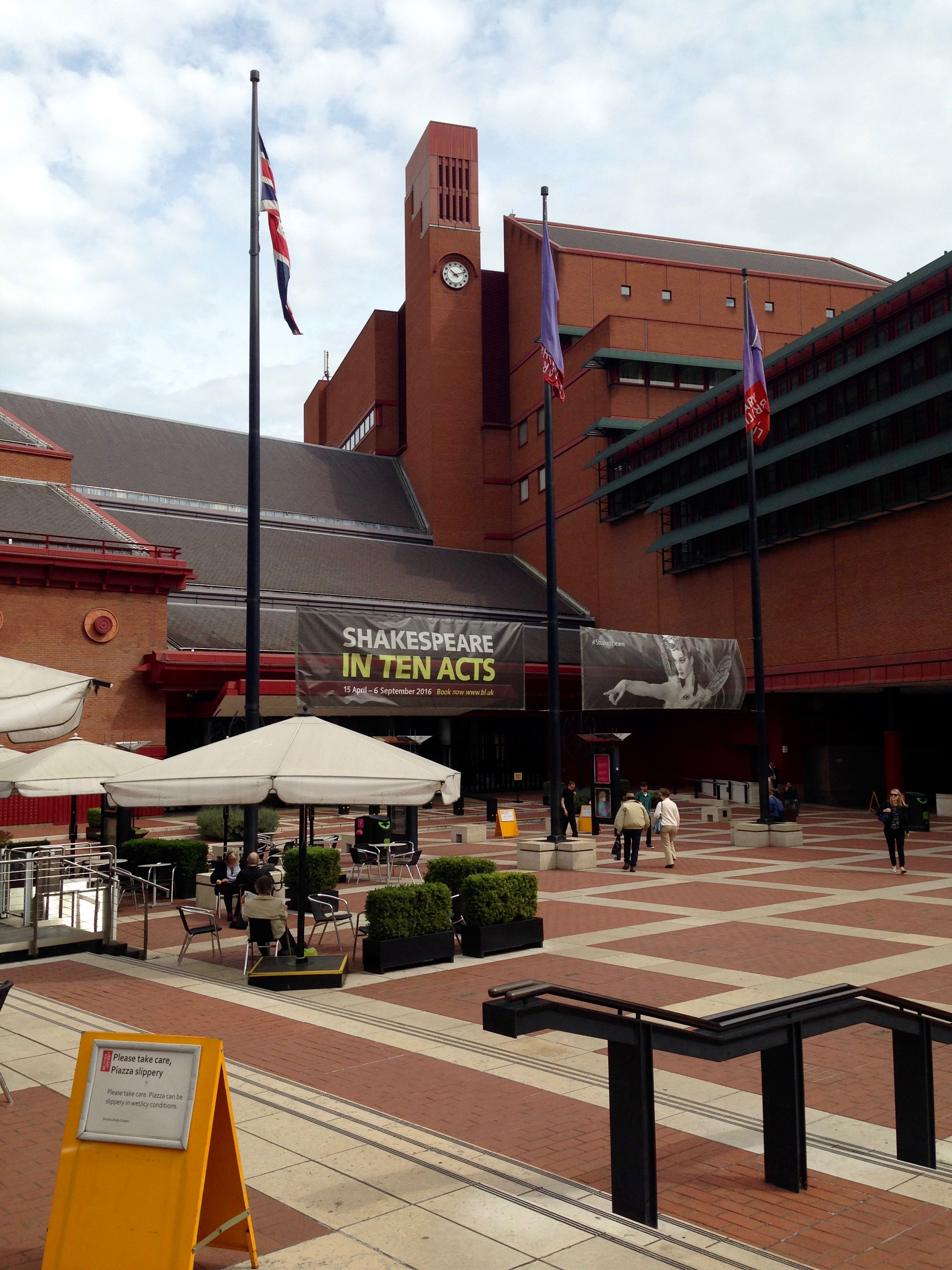 """""""MALICE"""" AT THE BRITISH LIBRARY"""